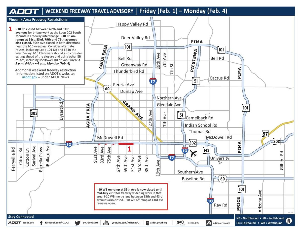 Eastbound I-10 to close west of downtown Phoenix this ... on northeast phoenix map, heard museum phoenix map, old town scottsdale hotel map, westgate phoenix map, phoenix convention center map, central phoenix map, flagstaff phoenix map, printable phoenix street map, phoenix metro map, phoenix freeway map, biltmore phoenix map, scottsdale city street map, uptown phoenix map, phoenix area street map, glendale map, phoenix city map, phoenix airport map, phoenix municipal stadium map, phoenix az map, sierra vista az area map,