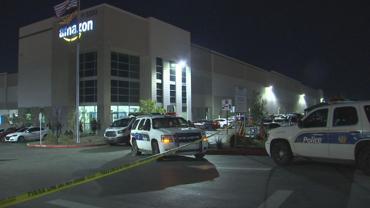Baby found dead at Amazon distribution center