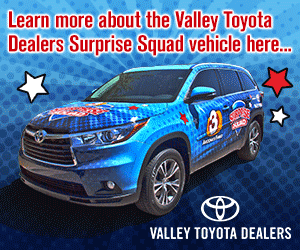 Surprise Squad vehicle Valley Toyota Dealers