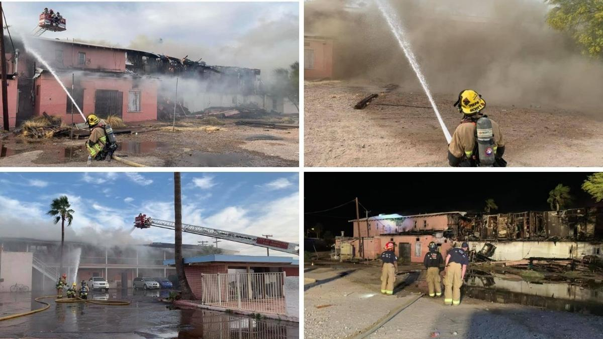 Fire breaks out at Gila Bend motel