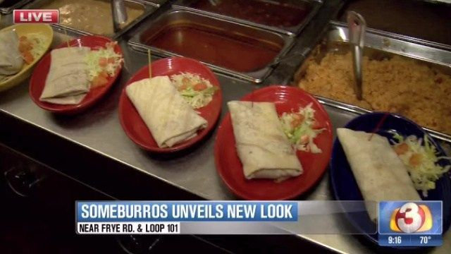 Someburros unveils new look, offers free burritos to customers