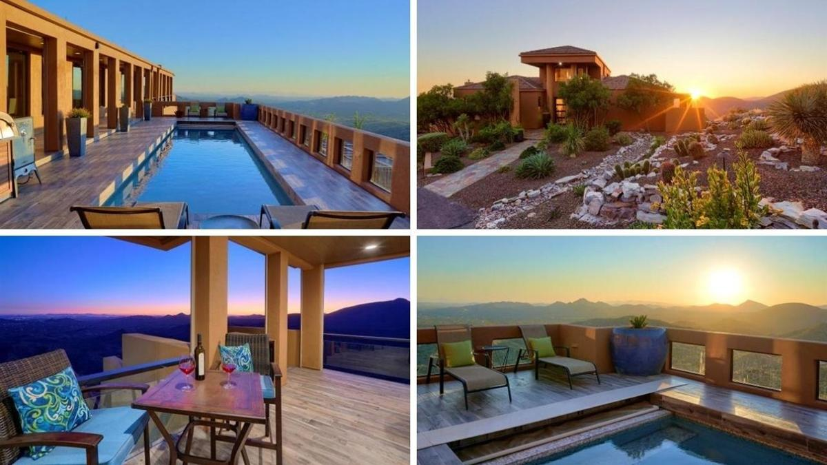 Nearly $3 million Cave Creek mountaintop estate with 360-degree Valley view for sale