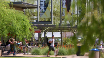 Arizona State University Polytechnic campus in Mesa