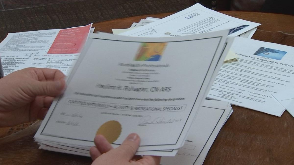 Valley woman says college scammed her with fake degree