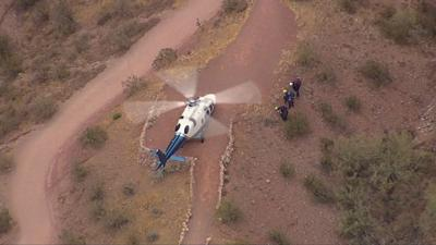 Phoenix FD: Hiker with leg injury on Camelback Mountain