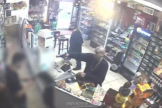 Trend Smoke Shop armed robbery