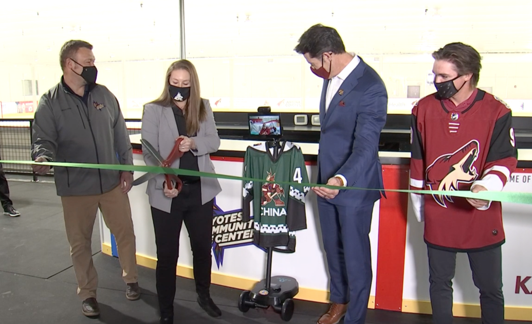 Arizona Coyotes unveil new home for girls hockey in the desert