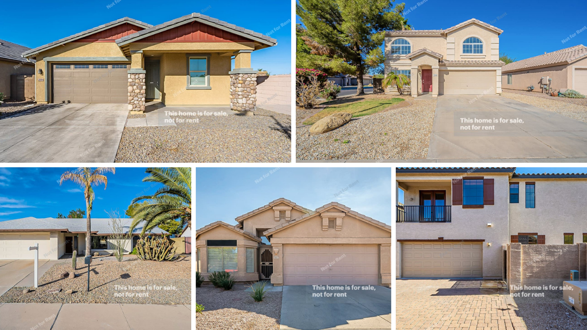 PHOTOS: 5 perfect Phoenix-area homes under $400K