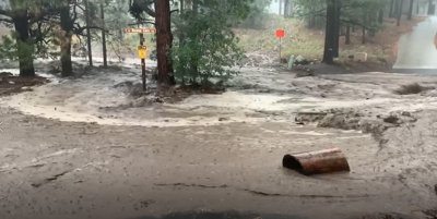 Monsoon storm causes flooding in Flagstaff