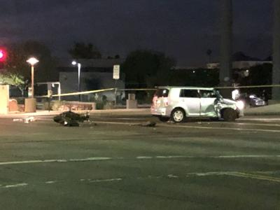 Deadly crash involving car, motorcycle caused road closures in Scottsdale