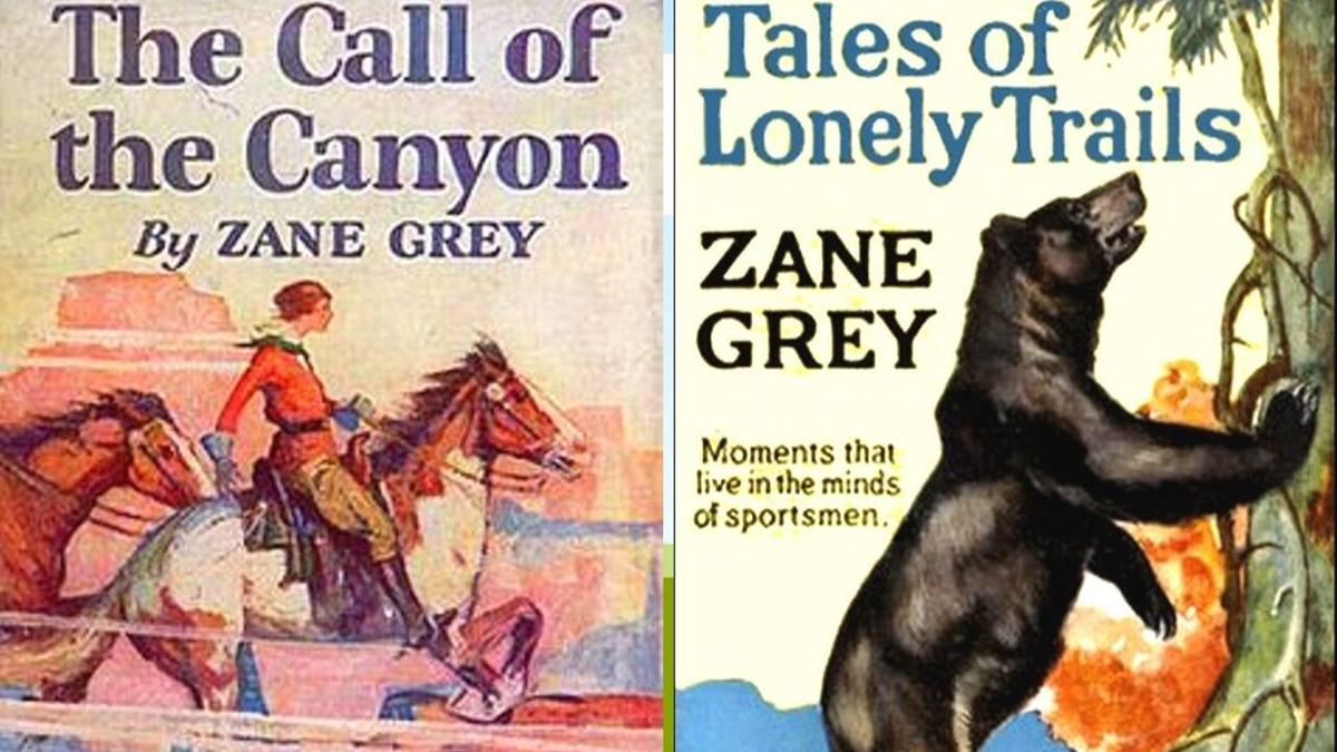 Zane Grey novels