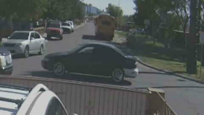 Family shares surveillance video of car hitting daughter