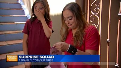 Arizona's Family Surprise Squad surprises mother and daughter