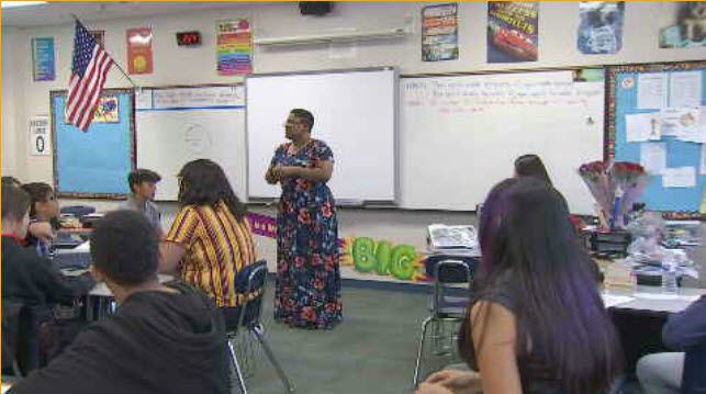 El Mirage teacher is an inspiration to her students