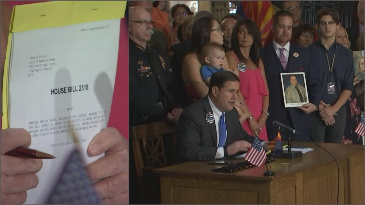 Gov. Doug Ducey signs HB 2318 into law
