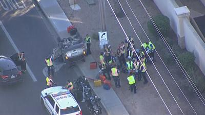 Seven people, including baby, hurt in Scottsdale rollover crash