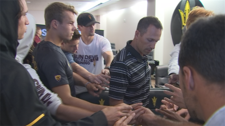 Dream Season: ASU men's tennis going dancing in first year back on campus