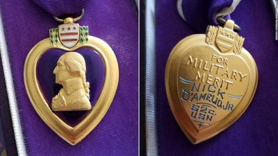 Purple Heart mistakenly donated to Tucson Goodwill to be returned to family