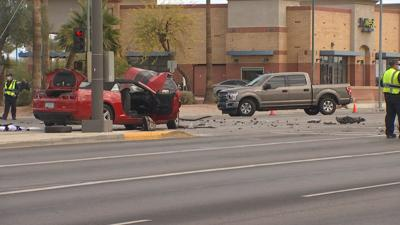 Deadly crash on Main Street and Dobson Road in Mesa