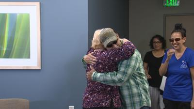 It was an amazing reunion of kidney donors and recipients in Phoenix.