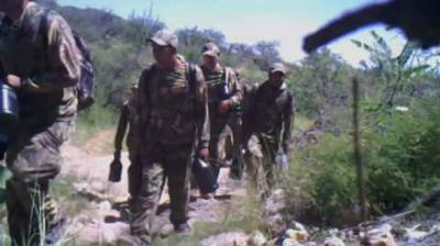 Rancher claims cartel activity captured on camera