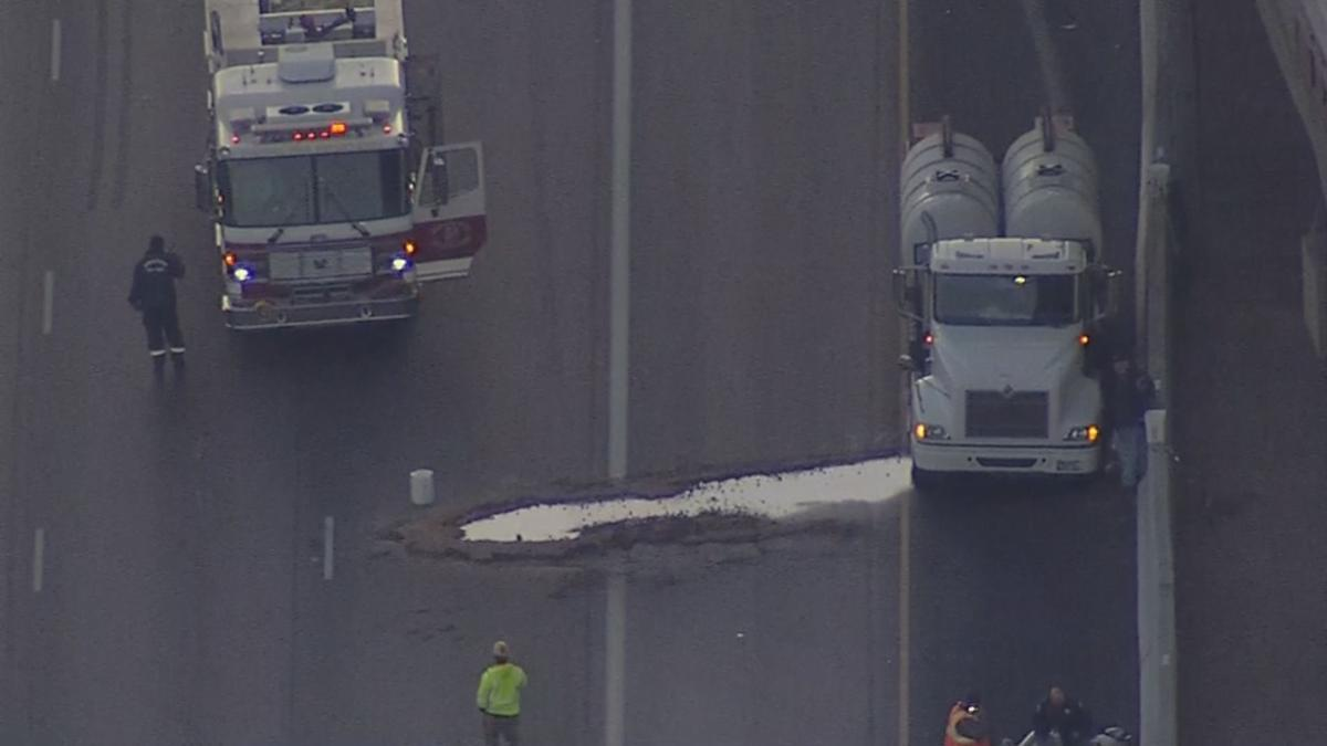 Interstate 10 Fuel Spill