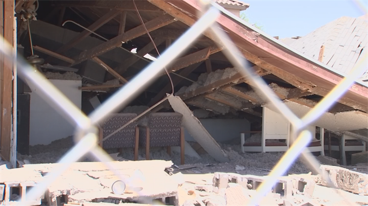 South Phoenix congregation will rebuild after church roof collapse