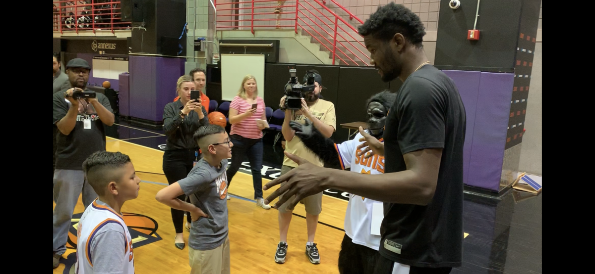 Suns surprise 9 year old with trip to NBA Draft Lotter