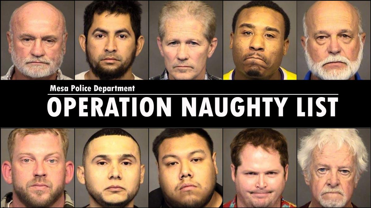 Mesa Police Department's Operation Naughty List