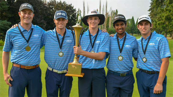 Arizona junior golfers capture elusive and prestigious Hogan Cup in Oregon