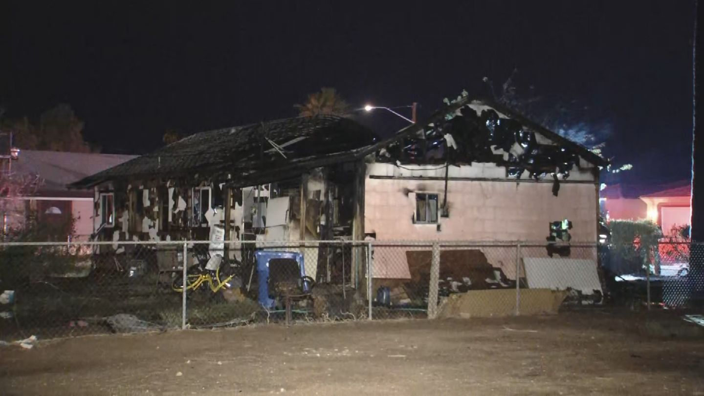 Phoenix Home Destroyed In House Fire