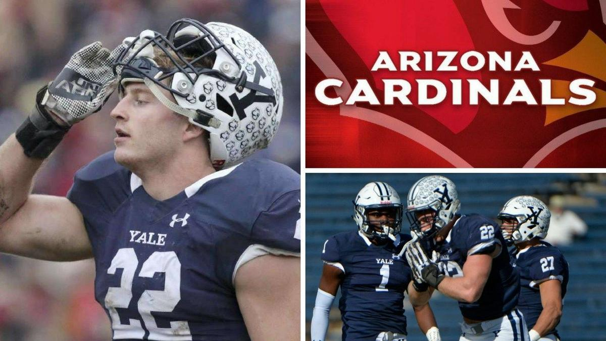 From the Ivy League to the National Football League, former Yale standout Oplinger hopes to stick with Cardinals