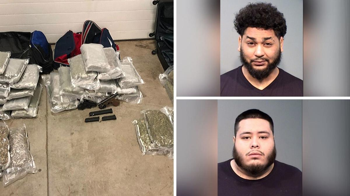 Interstate 40 traffic stop leads to drug discovery