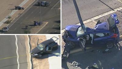 Car accident in Gilbert
