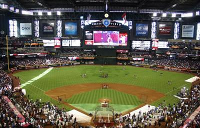 D-Backs switch synthetic grass at Chase Field