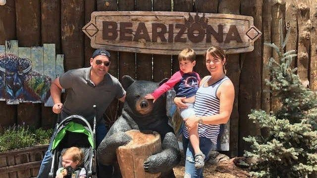 Head to Bearizona for a great family getaway