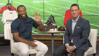 Cards legend Larry Fitzgerald stops by Arizona's Family studio