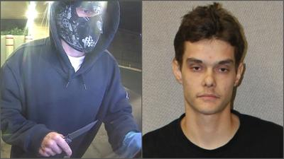 Matthew Morency, armed robbery suspect