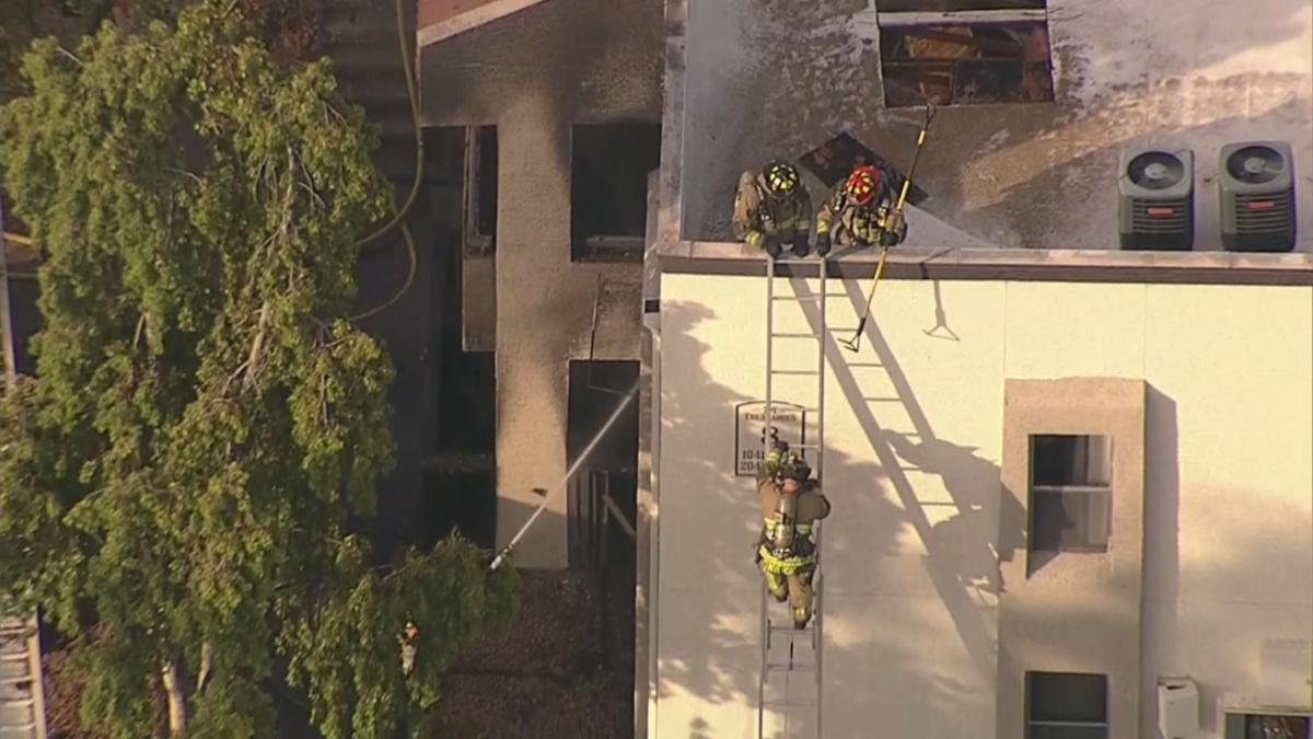 Southern Ave apartment fire