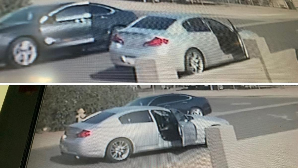 Suspect vehicle involved in DPS shooting
