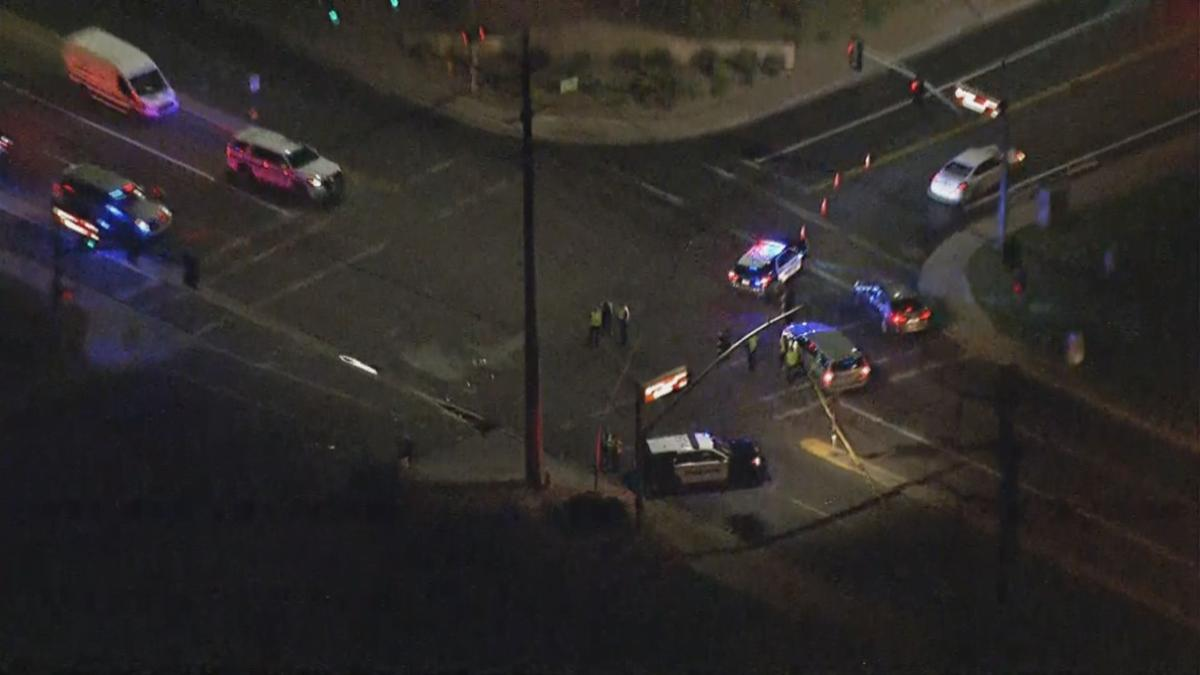 Chandler officer-involved accident