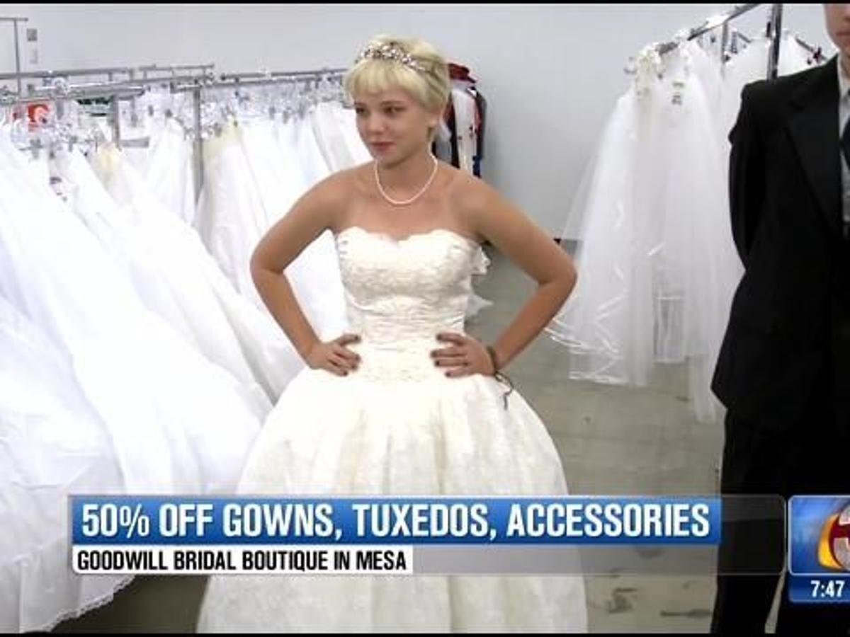 Bridal Bargains At Goodwill Bridal Sale Saturday Archives Azfamily Com,How To Choose A Wedding Dress Silhouette