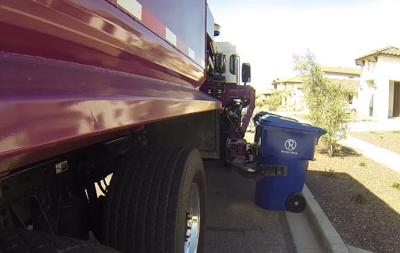 Trucks will still come by and pick up residents' blue (recycle) and black (trash) bins, but now, the contents of both bins will go the landfill.