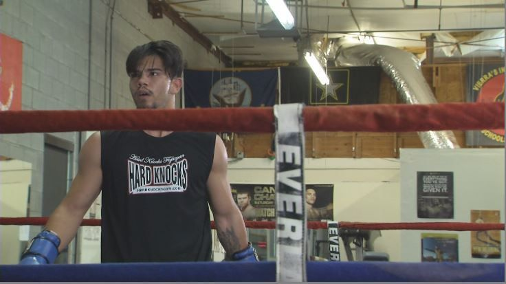 The Outlaw makes his professional boxing debut