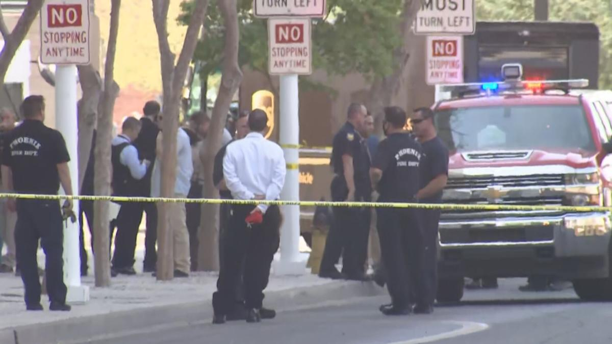Shooting outside federal courthouse in downtown Phoenix