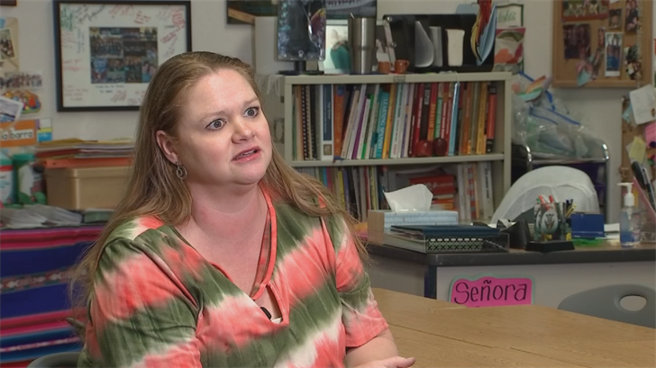 Arizona teacher's trip to Savers highlights divide over Red for Ed