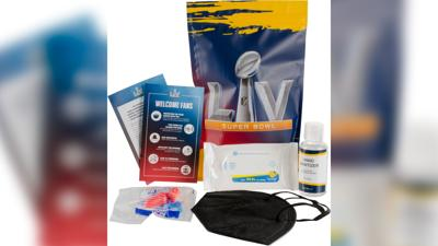 The NFL is providing free PPE kits to Super Bowl attendees upon arrival at the stadium