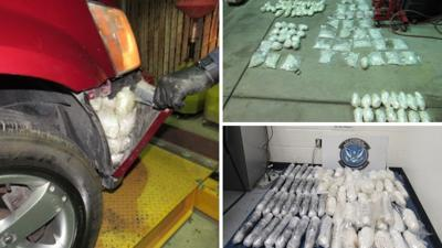 CBP HEROIN AND METH BUST