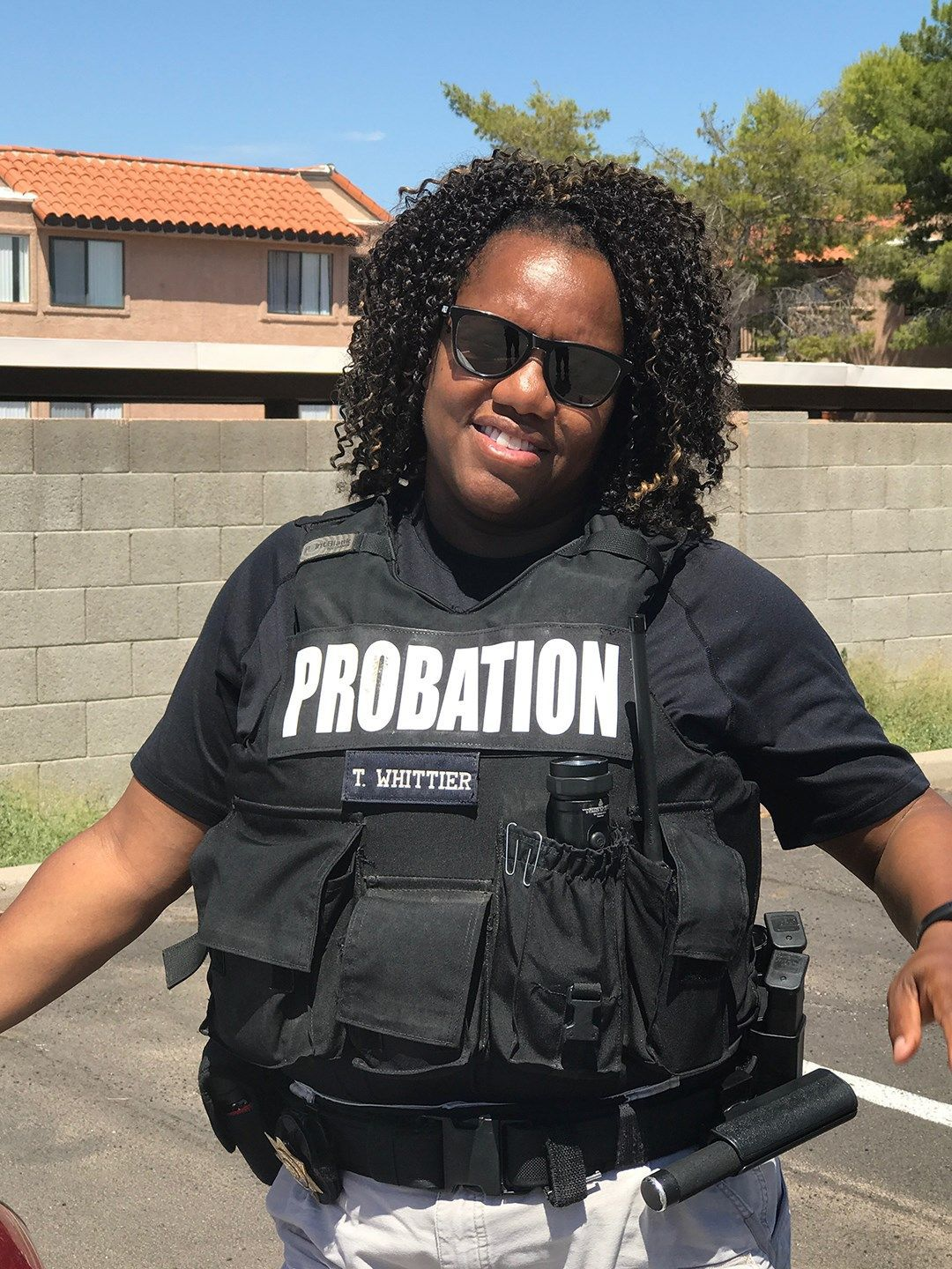 Black probation officer inspires former neo-Nazi to cover up