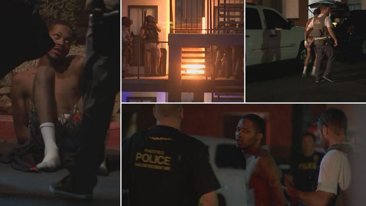 Out-of-state homicide suspect in custody following standoff in Phoenix